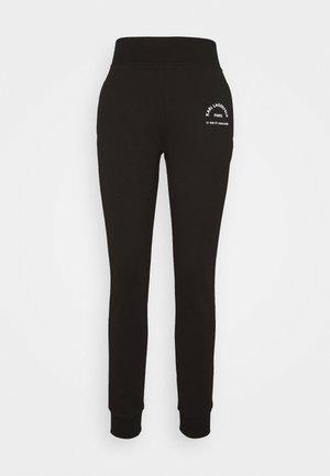 ADDRESS LOGO PANTS - Pantaloni sportivi - black