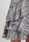 KARL LAGERFELD - BOUCLE SKIRT  - A-line skirt - light grey