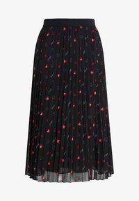 KARL LAGERFELD - PLEAT SKIRT - A-line skirt - black - 3