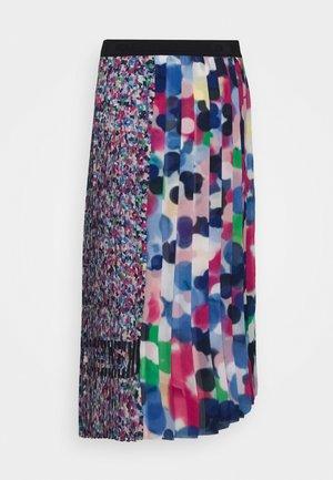 ASYMMETRICAL PLEATED SKIRT - Áčková sukně - multi-coloured