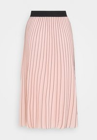 KARL LAGERFELD - PIN STRIPE PLEATED SKIRT - A-line skirt - rose smoke - 3