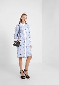KARL LAGERFELD - SHIRT DRESS - Skjortekjole - blue - 1
