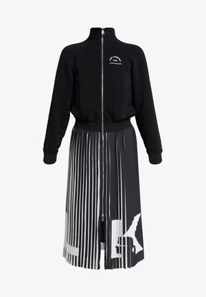RUE ST GUILLAUME PLEATED DRESS - Day dress - black