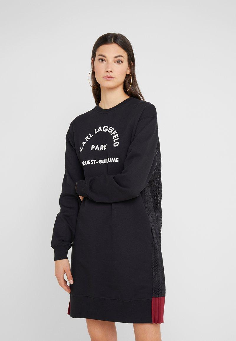 KARL LAGERFELD - RUE GUILLAUME - Denní šaty - black