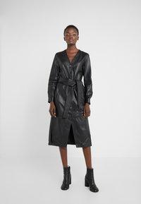 KARL LAGERFELD - DRESS TIE - Vestito estivo - black - 0