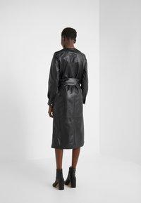 KARL LAGERFELD - DRESS TIE - Vestito estivo - black - 2