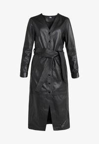 KARL LAGERFELD - DRESS TIE - Vestito estivo - black - 4