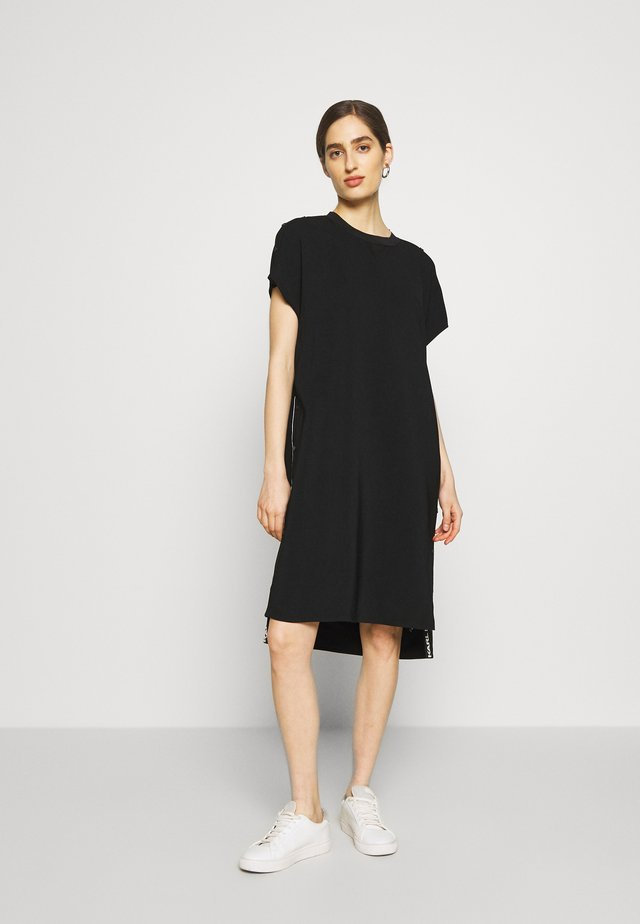 CADY DRESS SNAP DETAILS - Vestido informal - black