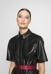KARL LAGERFELD - SHIRT DRESS - Vestito elegante - black - 3