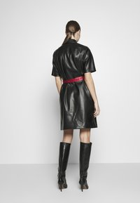 KARL LAGERFELD - SHIRT DRESS - Vestito elegante - black