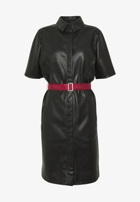 KARL LAGERFELD - SHIRT DRESS - Vestito elegante - black - 4
