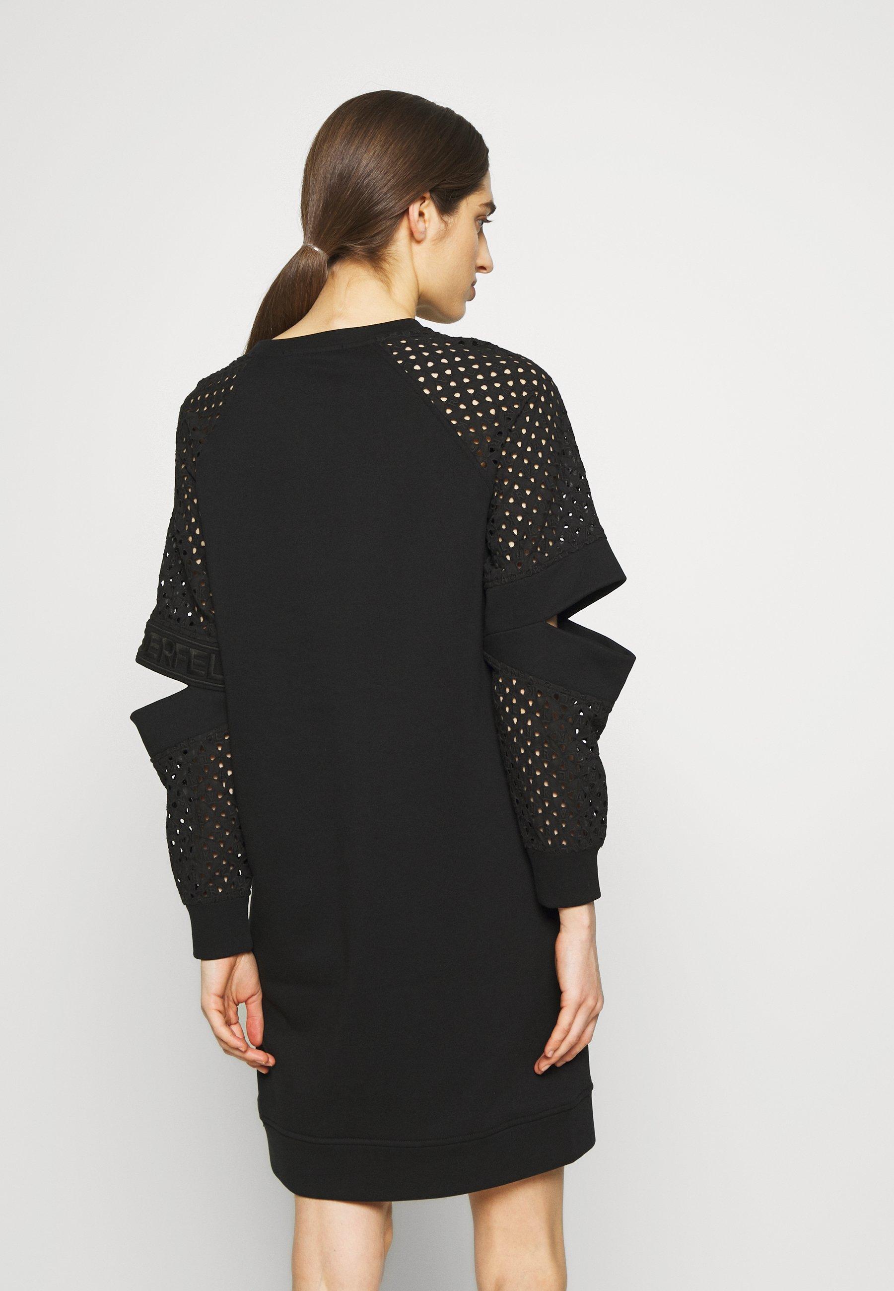 Karl Lagerfeld Cut Out Dress - Vardagsklänning Black