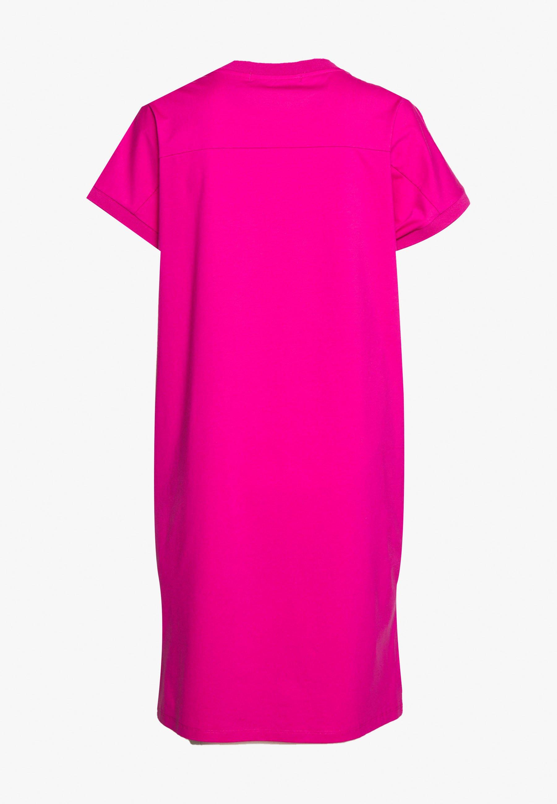 Karl Lagerfeld Address Dress - Jerseyklänning Very Berry