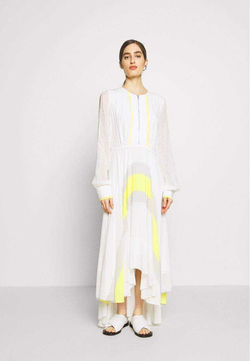 KARL LAGERFELD - DRESS CIRCLE - Maxi šaty - off white