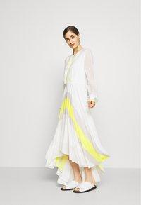 KARL LAGERFELD - DRESS CIRCLE - Maxi šaty - off white - 1