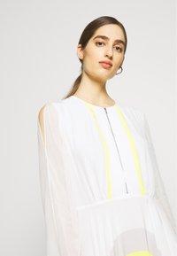 KARL LAGERFELD - DRESS CIRCLE - Maxi šaty - off white - 3