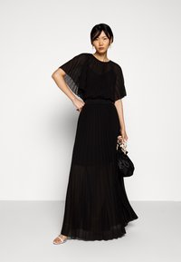 KARL LAGERFELD - PLEATED MAXI DRESS - Abito da sera - black - 1