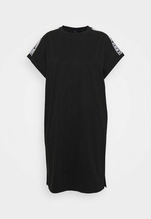 MERCERIZED DRESS  - Day dress - black