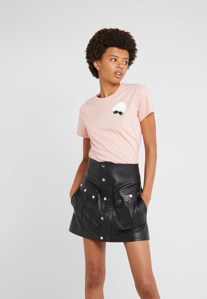 KARL LAGERFELD - IKONIK  - T-shirt print - mellow rose