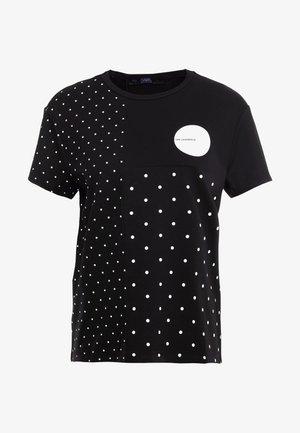 PUNTO - Camiseta estampada - black