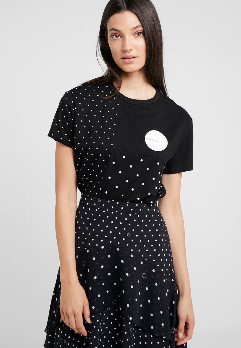 KARL LAGERFELD - PUNTO - T-shirts print - black