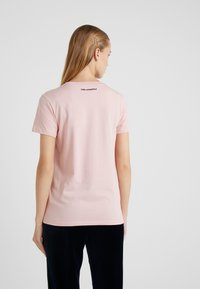 KARL LAGERFELD - CHOUPETTE - T-shirt print - pink - 2