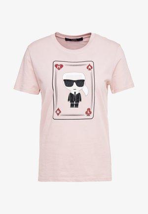 CHOUPETTE - T-shirt z nadrukiem - pink