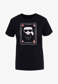 KARL LAGERFELD - CHOUPETTE - T-shirt print - black - 3