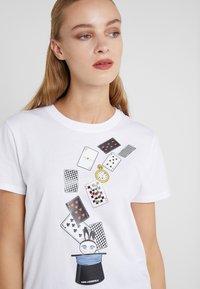 KARL LAGERFELD - T-shirt print - white - 4