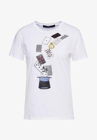 KARL LAGERFELD - T-shirt print - white - 3