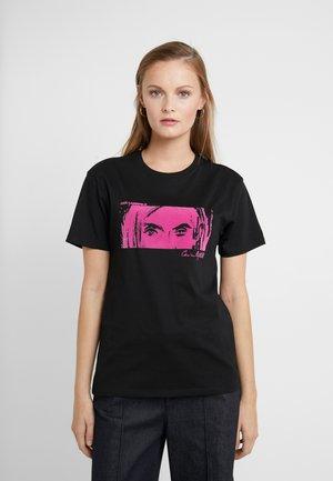 KARL X CARINE  - T-shirt imprimé - black