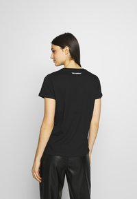 KARL LAGERFELD - STACKED LOGO ADRESS  - T-shirt print - black - 2