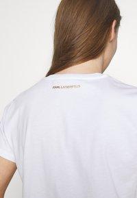 KARL LAGERFELD - LOGO - T-shirts med print - white - 5