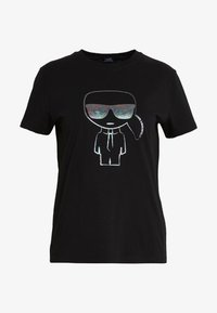 KARL LAGERFELD - KARL IKONIK  - T-shirt print - black - 4