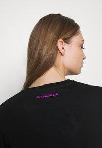 KARL LAGERFELD - KARL IKONIK  - T-shirt print - black - 5
