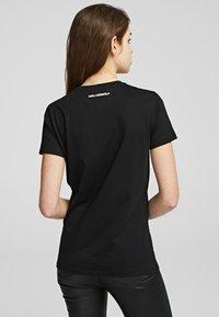 KARL LAGERFELD - Basic T-shirt - black - 2