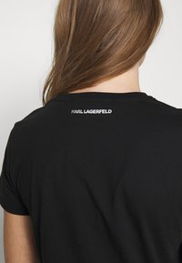 KARL LAGERFELD - 54 LOGO  - Camiseta estampada - black - 5