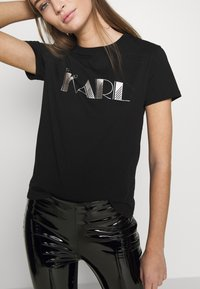 KARL LAGERFELD - 54 LOGO  - Camiseta estampada - black - 3
