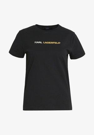 IKONIK LOGO - T-shirt imprimé - black