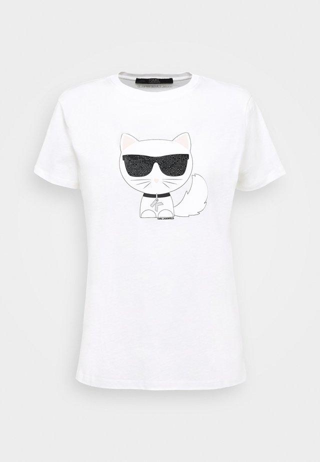 IKONIK CHOUPETTE - T-shirt imprimé - white