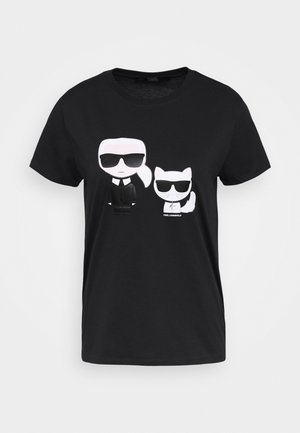 CHOUPETTE TEE - T-shirt con stampa - black