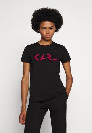 LEGEND LOGO - Print T-shirt - black