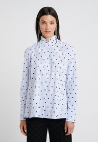 KARL LAGERFELD - Button-down blouse - white/blue - 0