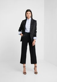 KARL LAGERFELD - Button-down blouse - white/blue