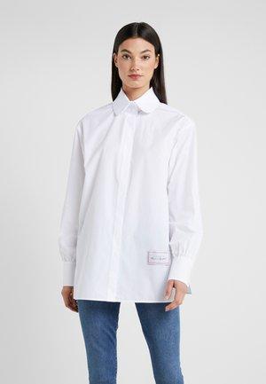 CLASSIC KARL POPLIN - Chemisier - white