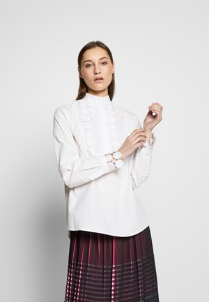 PLASTRON - Blouse - white