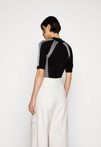 KARL LAGERFELD - BODY SUIT LOGO - Camiseta estampada - black - 2