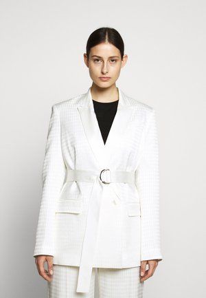 CAMEO BELT - Short coat - off white