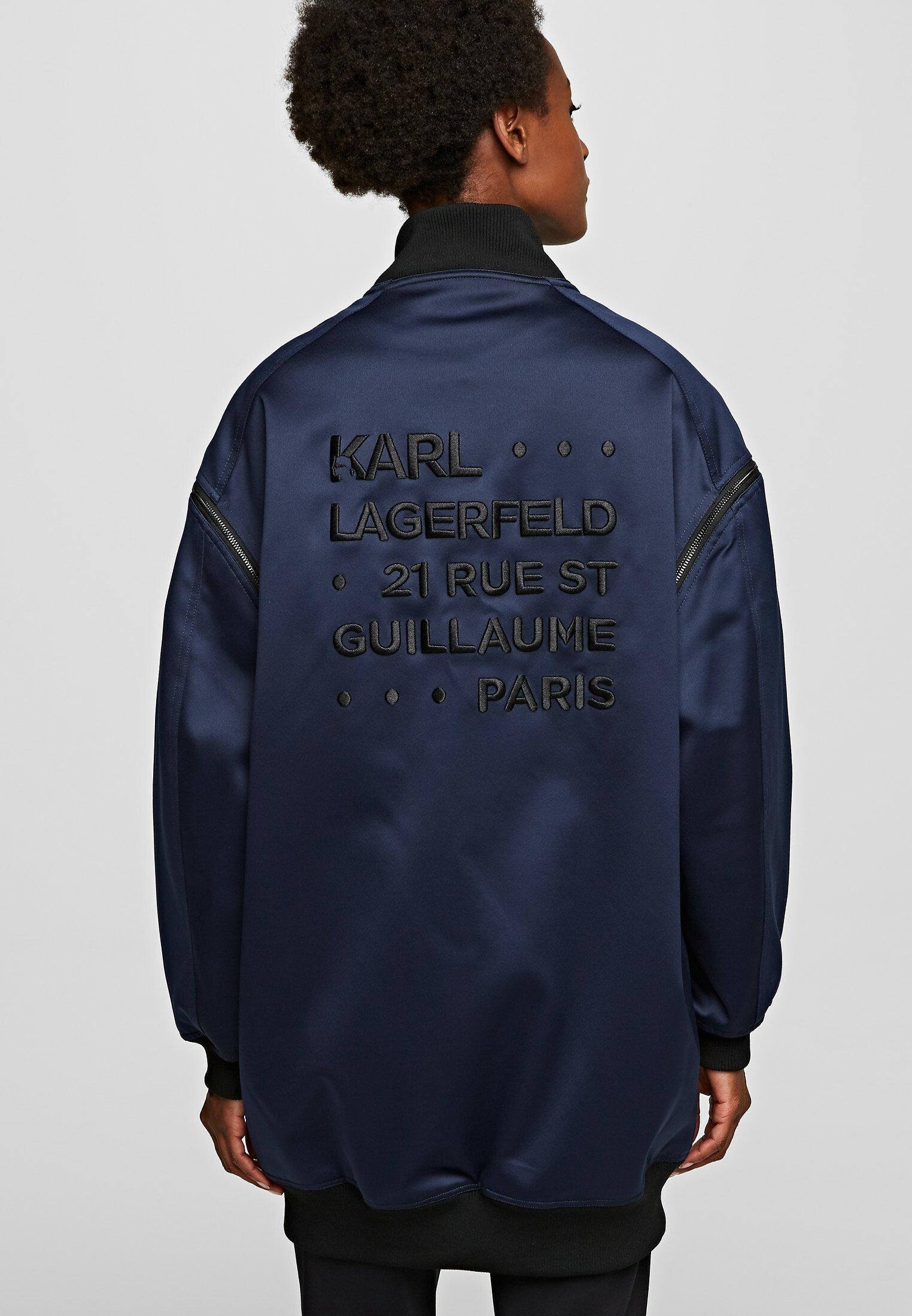 Karl Lagerfeld Bomberjacka - Navy/black