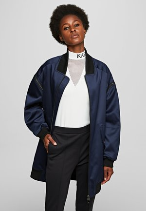 Bomber Jacket - navy/black
